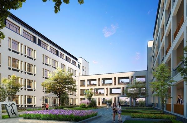 塘栖中学办公楼加固改造工程